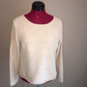 J. Jill Super Soft Cream/Peachy/Yellow Sweater